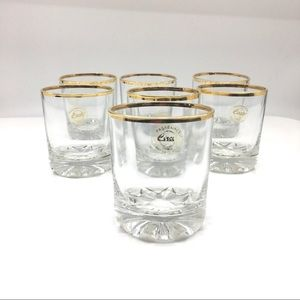 Pasabahche 7 Piece Glass Whiskey Set NWOT